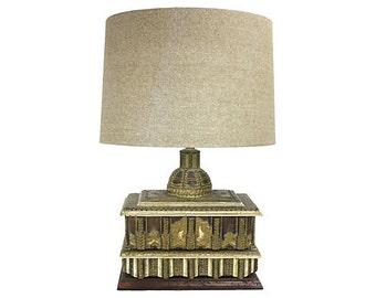 Bohemian & Asian-Inspired Box Table Lamp