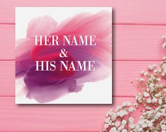 Wedding card / save the date / invitation