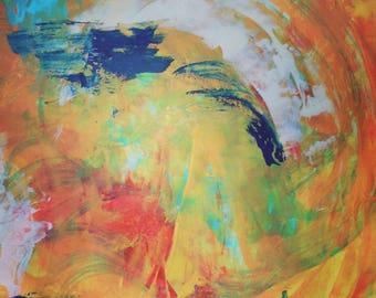 Original abstract art 14x16