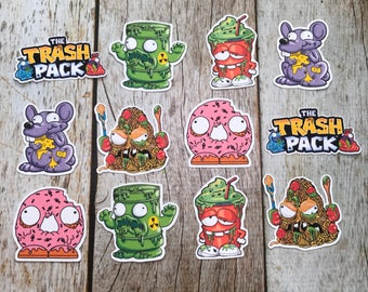 The Trash Pack toppers/tags