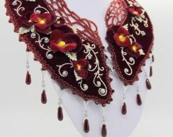 """Necklace """"Royal Garden"""""""