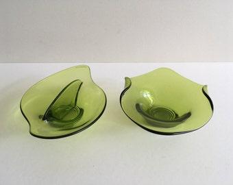 Vintage Viking Glass Bowls.