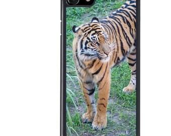 Tiger Phone Case, iPhone 5 5s 6 6s 6+ 6s+ SE 7 7+ iPod 5 6 Case, Animal, Nature, Wildlife, Plus