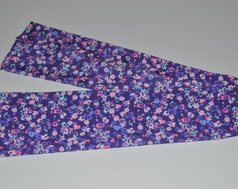 Purple Flower sleeve