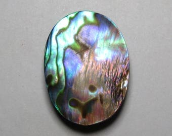 Abalone Shell - Oval Shape Cabochon size - 21x29 mm  - weight - 33.35 crt