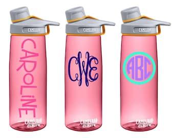 Personalized CamelBak Chute Water Bottle .75L {Cactus Flower}