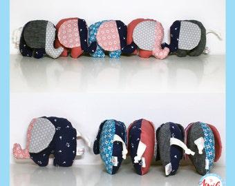 Kleine (te) gekke olifanten knuffels