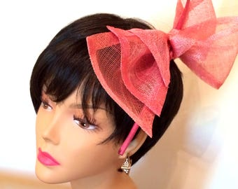 Double Bow Fascinator.