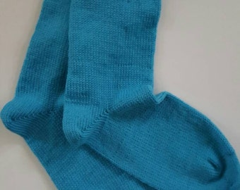 Hand Knit Wool Socks using a Circular Sock Knitting Machine - Superwash Merino