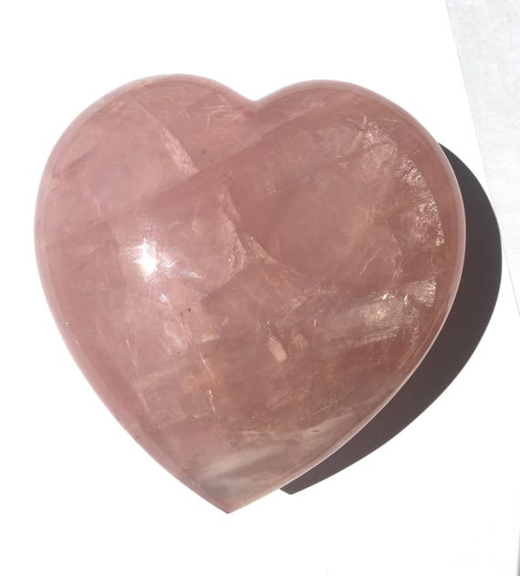 Rose Quartz Heart, Polished, M-2013