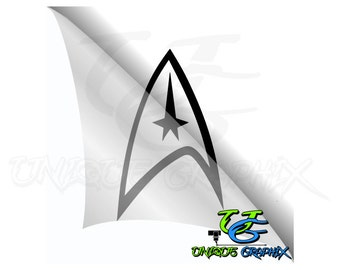 Star Trek Decal Macbook Laptop car sticker