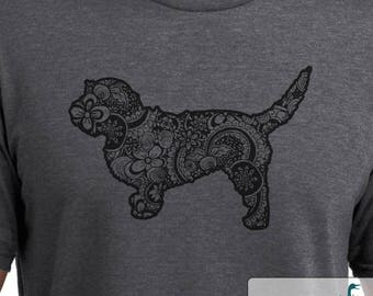 Basset Fauve de Bretagne - Doodle - Basset Fauve de Bretagne shirt - Ladies or Unisex cut - Choose your color!