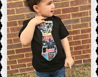 boys Star wars TIE shirt 2T 3T 4T 5T 4/5 6/7 8 10/12 14/16 ready to ship