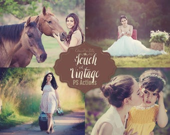 75% OFF! - A Touch of Vintage {34 Photoshop Actions for CS5, CS6 and CC}