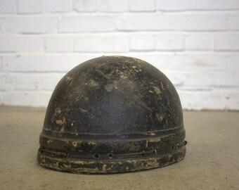 Cork Motorcycle Helmet Circa 1940's