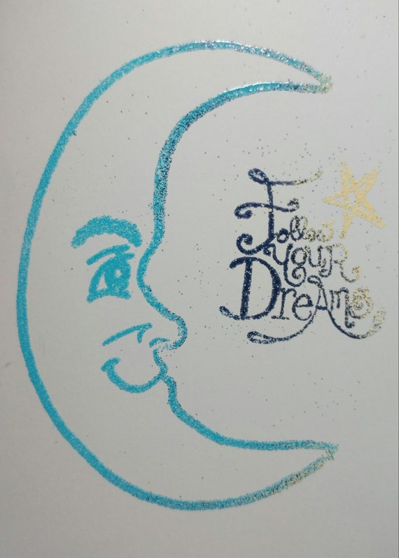 """Embossed Greeting Card 