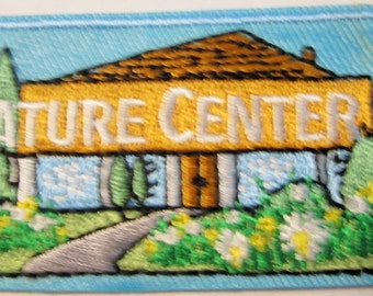 """Girl Scout Fun Patch """"Nature Center"""""""