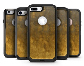 Fading Golden Fire Field V2 - OtterBox Case Skin-Kit for the iPhone, Galaxy & More