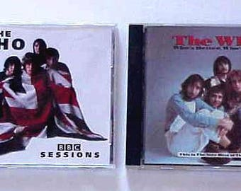 2 The WHO CDS The BBC Sessions 1996 and Who's Better Who's Best 1988