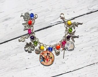 Tinker Bell And Friends Inspired Charm Bracelet