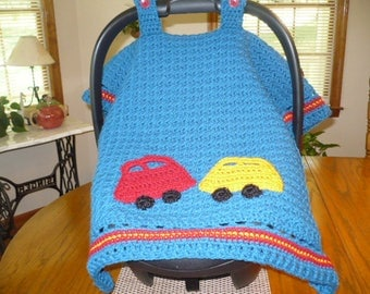 Crocheted Carseat Tent