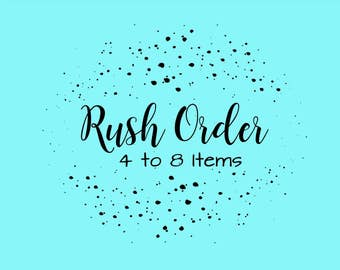 Rush Your Order - Order will ship within 48 hours!