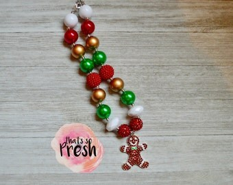 Gingerbread necklace, Gingerbread man necklace, Gingerbread house, Gingerbread svg, Christmas , Christmas gifts, Christmas necklace