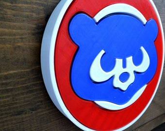 Retro Chicago Cubs Wall Art