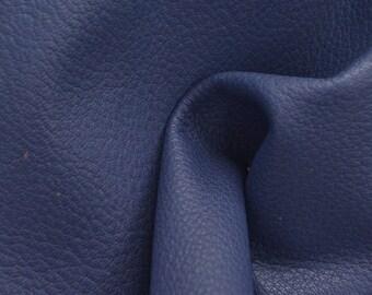 "Leather New Zealand Deerskin Hide 8"" x 10"" Revel Blue 2 1/2-3 oz TA-54638 (Sec 3,Shelf 4,B)"