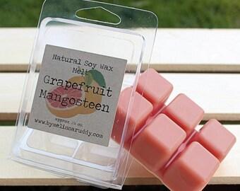 Grapefruit Mangosteen Soy Wax Melt