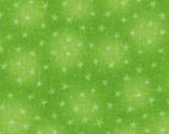 Starlet Lime by Blank Quilting, Fabric by the Yard