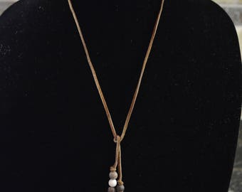 Hobo style necklace