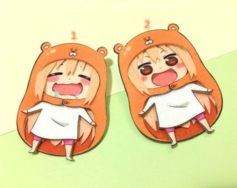 Himouto Umaru Chan Felt Pins by Nano Angels
