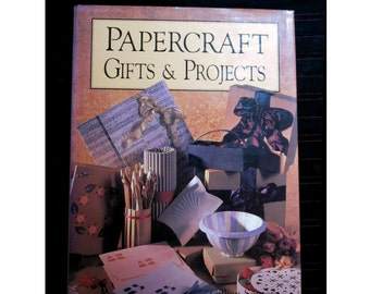 Papercraft Gifts & Projects hardback book   - UK seller