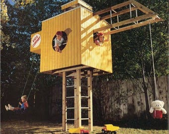 Kids Play Structure Woodworking Plans