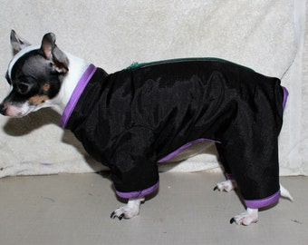 Water Repellent Fleece Lined SNOW SUITS - Custom made to Measurements