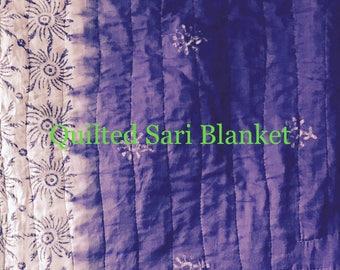 Quilted Sari Blanket