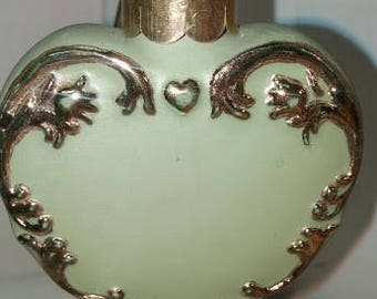 Fancy Heart Porcelain Ornament