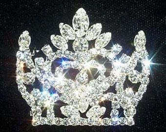 Style # 12153 Fancy Crown Pin