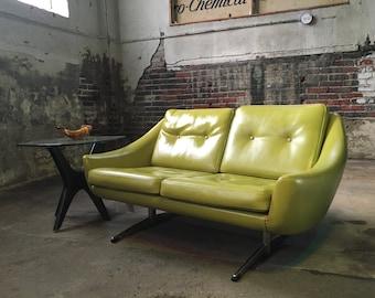 Mid century sofa danish modern sofa John Stuart international Sofa mid century modern loveseat Danish modern setee