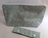 Project bag, wip bag, craft bag, knitting crochet bag, sock bag and needle cosy kit, make a wish collection