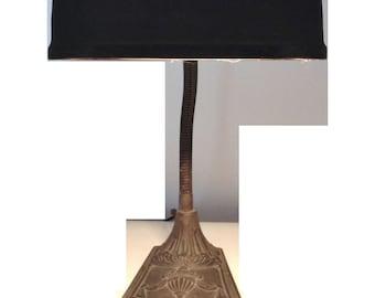 Lincoln Desk Lamp Neo-Classical Goose Neck c. 1930s Gooseneck