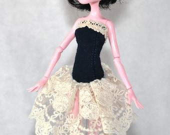 Little dress corset for Monster High