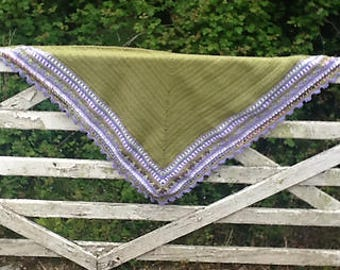 Summer Sunday Shawl - Handmade to order