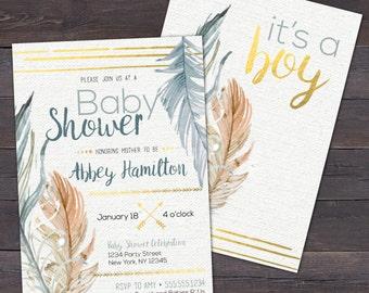 Bohemian baby shower Etsy