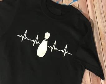 Bowling Heartbeat T-Shirt