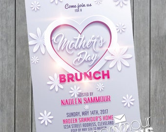 Printable Mother's Day Tea Party Brunch Printables Instant