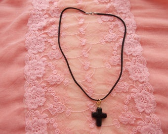 Sale on 1 Beautiful  Handmade Gothic Cross Necklace for someone special