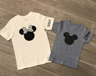 Minnie Mouse shirt, Mickey mouse shirt, Minnie Mouse, disney shirt, mickey shirt, Mickey Mouse, kids disney shirt