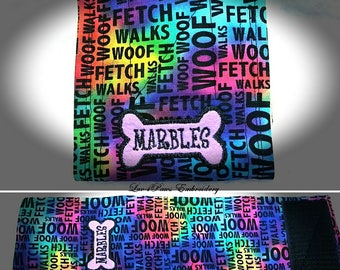 Cute Wordy Belly Band for Male Dogs
